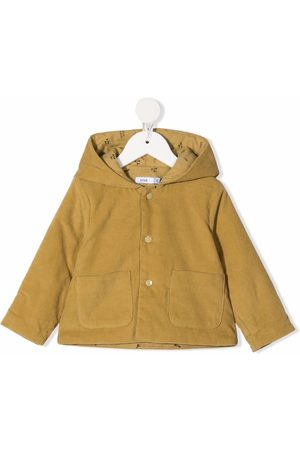 KNOT Puffer Jackets - Hooded button-up coat