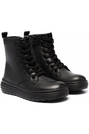Geox Girls Ankle Boots - Lace-up combat boots