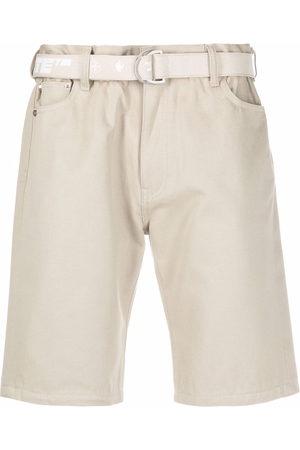 Off-White Belted Bermuda shorts - Neutrals
