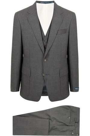 Polo Ralph Lauren Men Suits - Single-breasted three-piece suit - Grey