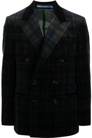 Polo Ralph Lauren Tartan Velvet Jacket