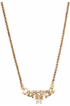 Dsquared2 Women Necklaces - Logo pendant necklace