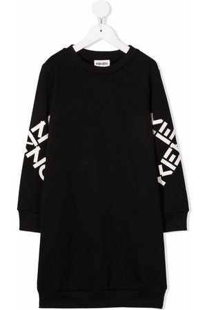Kenzo Logo-print sweatshirt dress