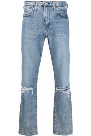 Levi's Men Straight - Distressed straight-leg jeans
