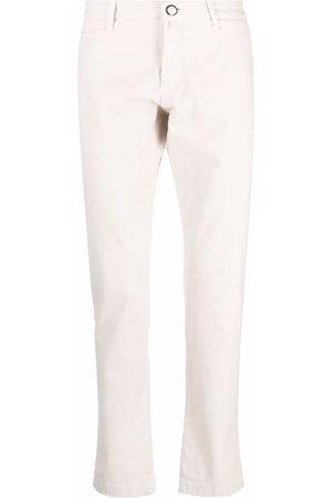 Jacob Cohen Men Chinos - Four-pocket stretch-cotton chinos - Neutrals