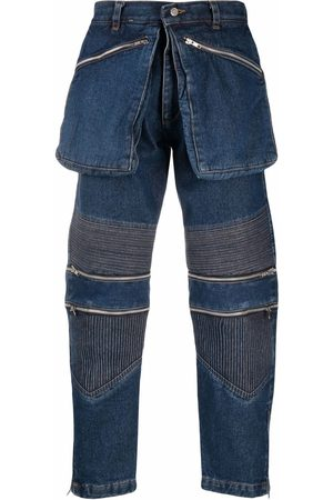 Youths in Balaclava Utility ribbed straight-leg jeans