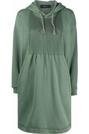 QASIMI Women Sweatshirts - Hooded sweatshirt dress
