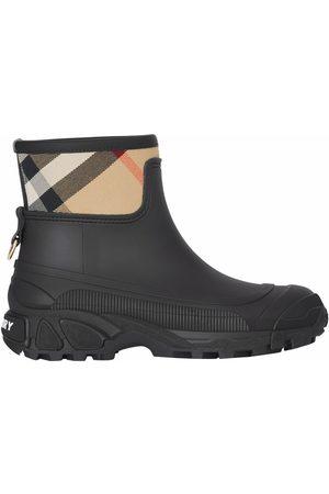 Burberry Women Rain Boots - House check panel rain boots
