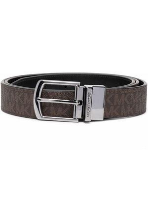 Michael Kors Men Belts - Monogram print belt