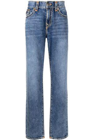 True Religion Men Slim - Contrast-stitching slim jeans