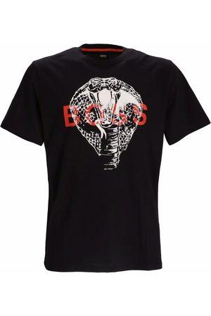 HUGO BOSS Men T-shirts - Cobra logo T-shirt