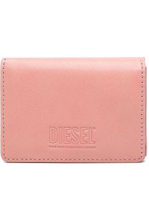 Diesel Lorettina faux-leather tri-fold wallet
