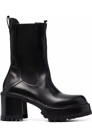 Premiata Chunky-sole slip-on boots