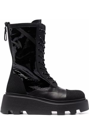 Premiata Chunky leather lace-up boots