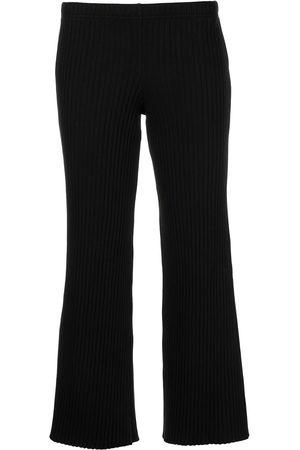 JOHN ELLIOTT Women Pants - Ribbed cropped trousers