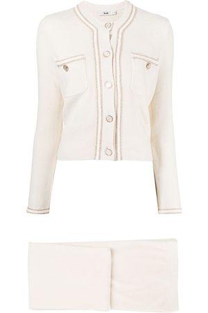 B+AB Button-up trouser set