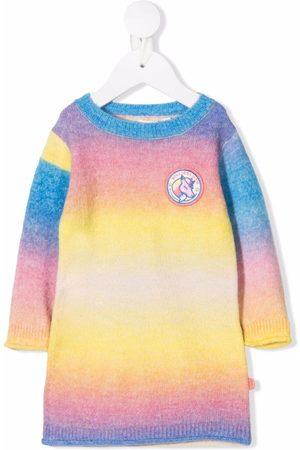 Billieblush Logo tie-dye jumper dress