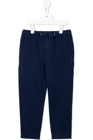 Stella McCartney Boys Straight Leg Pants - Drawstring straight-leg trousers