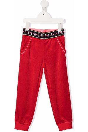 Billieblush Girls Sports Pants - Logo tracksuit bottoms