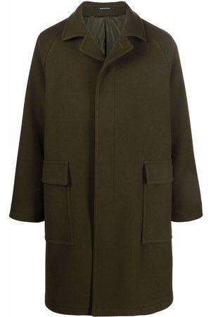 TAGLIATORE Mid-length single breasted coat