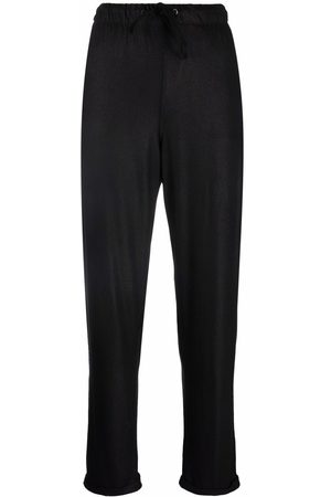 Majestic Elasticated straight trousers