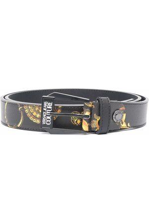 VERSACE Barocco print belt