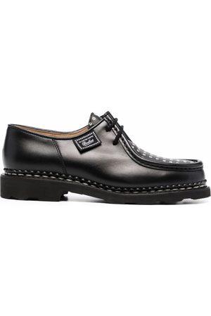 Paraboot Women Formal Shoes - Logo-print oxford shoes