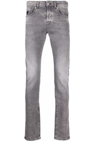 John Richmond Low-rise skinny jeans - Grey