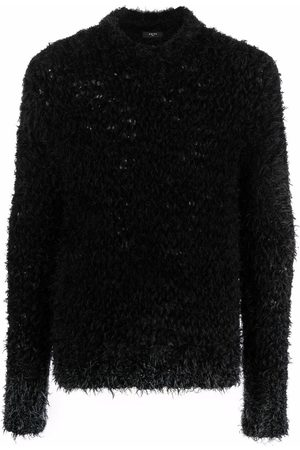 AMIRI Textured-finish long-sleeve jumper