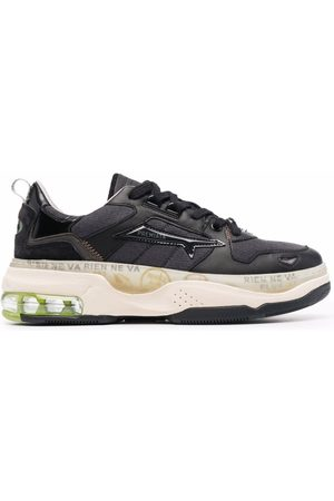 Premiata Draked chunky low-top leather sneakers