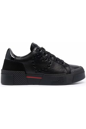 Love Moschino Women Sneakers - Logo low-top sneakers