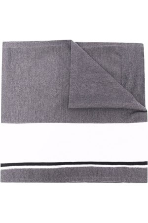 Iceberg Logo-print scarf - Grey