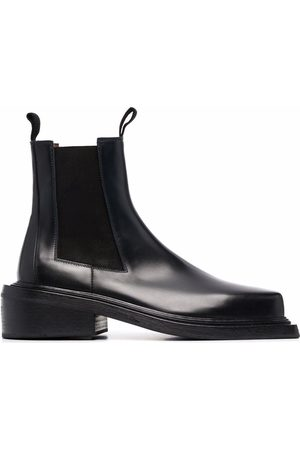 MARSÈLL Men Ankle Boots - Cassettino square-toe ankle boots