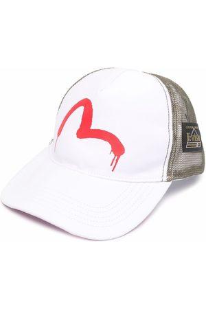 Evisu Men Caps - Logo-print mesh cap