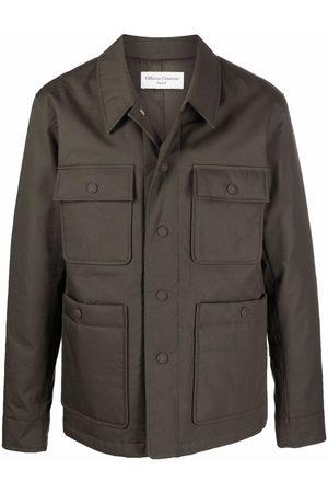 OFFICINE GENERALE Multi-pocket shirt jacket