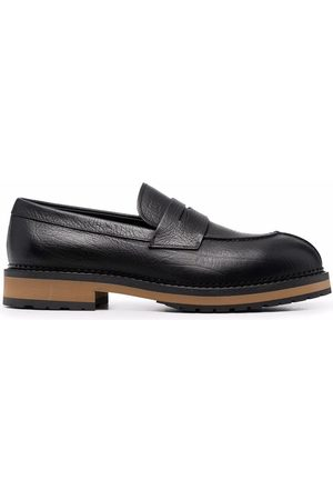 Tod's Crossover strap detail loafers