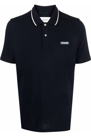 Coach Essential logo-patch polo shirt