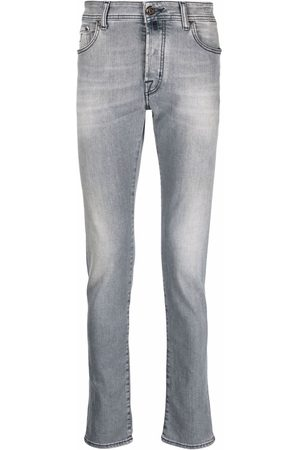 Jacob Cohen Low-rise skinny jeans - Grey
