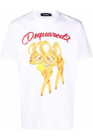 Dsquared2 Men T-shirts - Bambi-print T-shirt