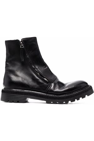 Premiata Men Ankle Boots - Round-toe ankle boots