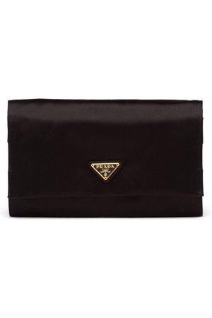 Prada Silk satin travel pouch