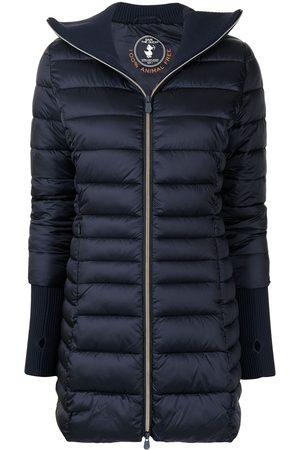 save the duck Keira vegan quilted long jacket