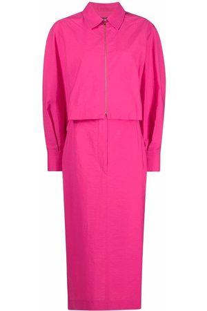 Jacquemus Zip-up shirt dress