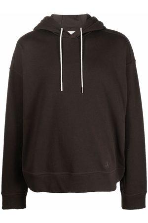 Jil Sander Men Long sleeves - Drawstring long-sleeve hoodie