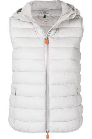 save the duck Cecilia vegan quilted gilet - Grey
