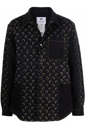 Marine Serre Crescent moon-print jacket