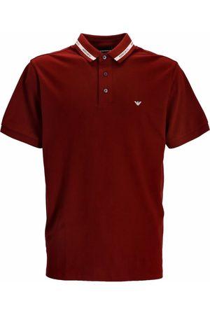 Emporio Armani Men Polo Shirts - Logo-embroidered polo shirt