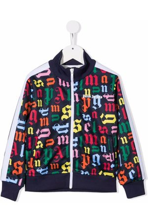 Palm Angels Monogram-print track jacket