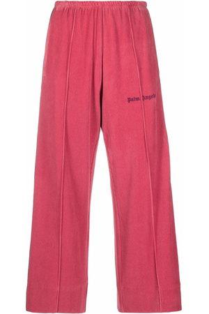 Palm Angels Logo-print sweatpants