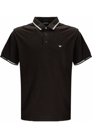 Emporio Armani Logo-embroidered polo shirt